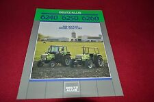 Deutz Allis Chalmers 6240 6250 6260 Tractor Dealer's Brochure AMIL4