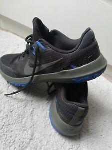Nike mens black trainers size 9 44 cj0813-012