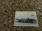 Air Senegal Hawker Siddeley 748 boarding at the airport airline issued postcard