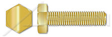 200 pcs M4-0.7 X 12mm DIN 933 Hex Cap Screws Full Thread Brass