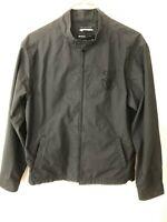 RVCA Mens XL Jacket Unlined Zip Closure Black