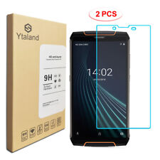 Ytaland 2Pcs Tempered Glass Film Guard Screen Protector For Cubot king kong 3