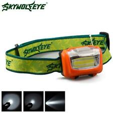 3W Mini Headlight 300Lumens LED Headlamp Flashlight Lamp Head Torch Camping