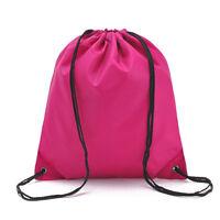 Bag Drawstring Backpack Waterproof Gym PE Swim School Dance Sport Boys Girls Lot
