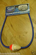 BRAND NEW NECKZ FLOATING BALSA WOOD FLOATZ SUNGLASS STRAP BLUE WITH RED