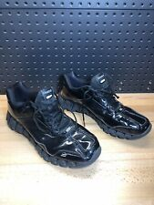 REEBOK Reezig Zigtech Black Patent Sz 13 Men Referee Basketball Shoes J83910