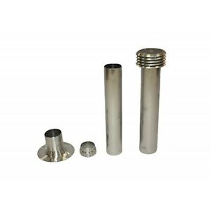 Universal Water Heater Flue Kit for Static Caravans, Morco,Paloma,Bosch,Cointra