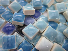 100 pcs Latest Patent Mosaic Tiles Blue mixture MICRO