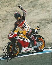 Marc Marquez signed Moto GP 10x8 photo Image B UACC Registered Dealer