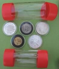 1-  Air-Tite Cap-Tube -Tite Holder Model-H - Silver Eagle Bullion Dollar Rounds