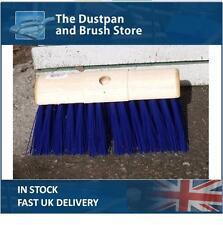 Heavy Duty Broom Head Stiff Heavy Duty Saddle Back Brush Head PVC Bristle Yard