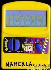 CARDINAL MANCALA ELECTRONIC HANDHELD TRAVEL TOY GAME BOARDGAME TRAVEL TOY KIDS