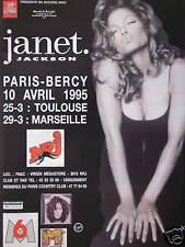 PUBLICITÉ RADIO NRJ AVEC JANET JACKSON A PARIS-BERCY