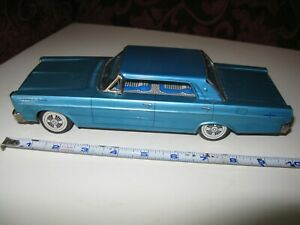 """Vintage 1950s Yonezawa """"Y"""" Friction FORD Galaxie 500 Working Nice Condition Toy"""