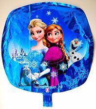 NEW FROZEN Elsa and Anna square foil balloon (42cm*42cm) birthday AU Seller!