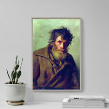 More details for ilya repin - a shy peasant (1877) photo poster painting art print