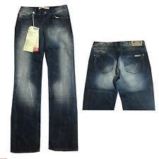 Mustang Elma Damen Hose Jeans Cargo Loose Fit Low Rise Größen wählbar Neu