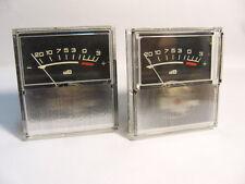 6 x Russian Audio power Amplifier VU meter DB level Header indicator . Lot of 6.