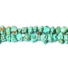Magnesite Smooth Nugget Beads 8x12mm Turquoise 60 Pcs Dyed Handcut GEMSTONES