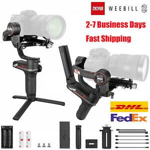 ZHIYUN WEEBILL S 3-Axis Gimbal Handheld Stabilizer For DSLR & Mirrorless Cameras
