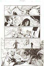 Establishment #13 p.18 - Whole Team 'Walking Dead' Artist - by Charlie Adlard Comic Art