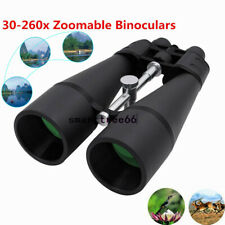 30-260X Zoomable Binoculars HIGH POWER Coated ZOOM Night Vision Optics Telescope
