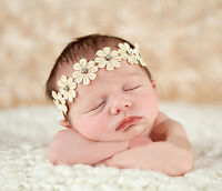 Fashion Cute Baby Girls Toddler Kids Elastic Flower Headband Hair Band Headwear