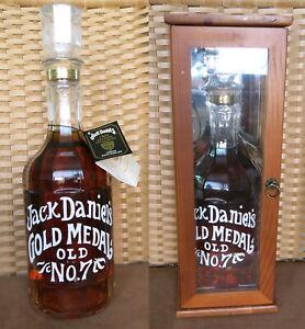Jack Daniels 1904 Gold Medal Replica Flasche 1,75L mit Vitrine