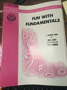 Fun with Fundamentals for Bass Clarinet