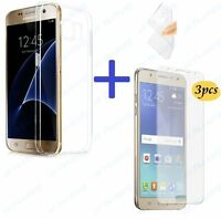 TPU SOFT COVER CASE + 3X CLEAR THIN LCD FILM FRONT SCREEN PROTECTOR FOR SAMSUNG