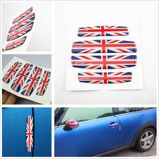 4 x England Union Jack Anti-rub Bumper Strips Protector Car SUV Door Soft Strips