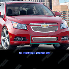 Fits 2011-2014 Chevy Cruze LT/LTZ/RS Stainless Steel Bumper Mesh Grille Grill