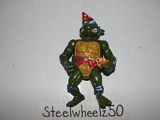TMNT Birthday Leonardo Action Figure 1992 Playmates Teenage Mutant Ninja Turtles