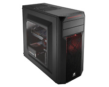 Corsair Computer Case Mid Tower Clear Cool Large Desktop Fan Gaming Cooling