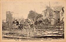 Wreckage of Emmanuel Lutheran Church in Lorain OH 1924