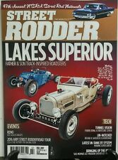 Street Rodder Feb 2017 Lakes Superior Track Inspired Roadster FREE SHIPPING sb