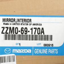 1998-2009 Mazda B2300 B2500 B3000 B4000 Interior Rear View Mirror Black OEM NEW