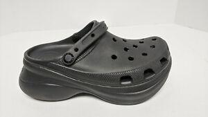 Crocs Classic Bae Clogs, Black, Women's 9 M