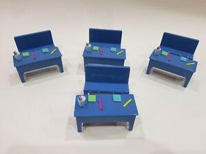 peppa pig school classroom desks set bundle ref1P33
