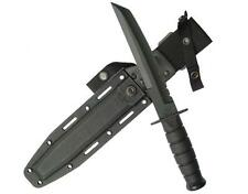 Ka-bar Kabar Tanto Black Knife 1245+Kydex Sheath 20cm Blade Hunting New KA1245