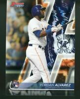 2020 Bowman's Best Base #45 Yordan Alvarez Rookie Houston Astros