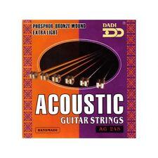 Dadi Acoustic folk guitar strings ag-248, 10er, i6 -