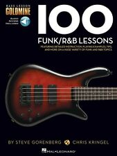 100 Funk R&B Lessons - Bass Lesson Goldmine Series Bass Instruction Bo 000131463