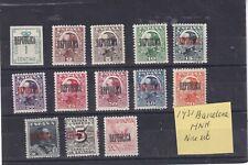 0188   Spain ( Civil war) 1931  MNH  Barcelona nice lot of stamps