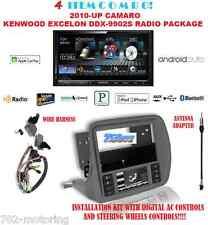 KENWOOD EXCELON DDX9902S MIRRORLINK APPLE CARPLAY ANDROID AUTO GM5201AB CAMARO