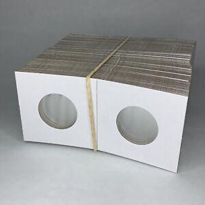 Guardhouse Quarter Size 2x2 Coin Cardboard Mylar Flips Holder Bundle of 100