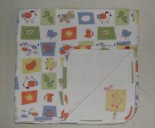 Talbots Kids Baby Blanket Farm Animals Barnyard Duck Quack Cotton Receiving