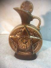 Vintage 1968 Jim Beam B.P.O.E. Elks Centennial Whiskey Bottle Decanter USA