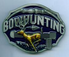 Gürtelschnalle Buckle Bowhunting Bogenschiessen Bogensport Jagd Bogen Pfeile