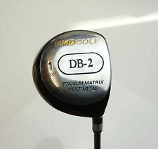 MD Golf DB2 10 Degree Driver Mid-Firm Flex Graphite Shaft MD Grip